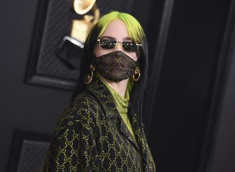 billie eilish face mask